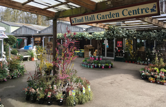 Garden Centre: Toad Hall Garden Centre